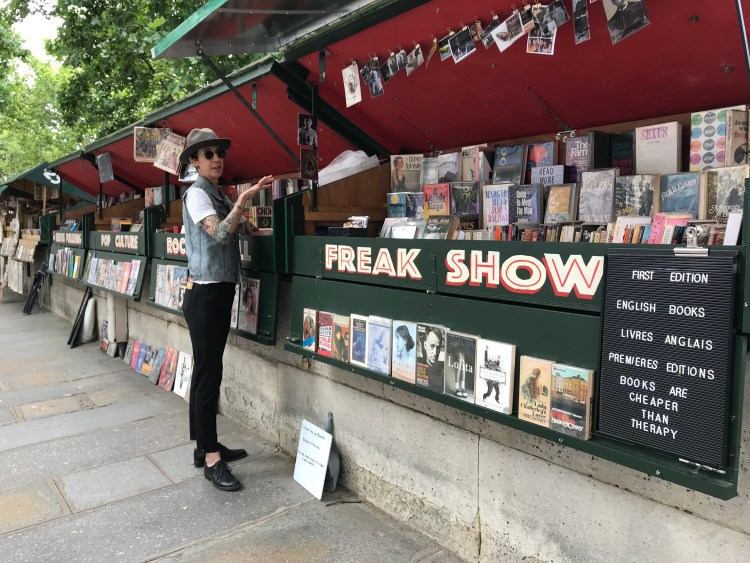 New episode: Here's a chat with Sydney Zekley, one of the booksellers from along the River Seine.
