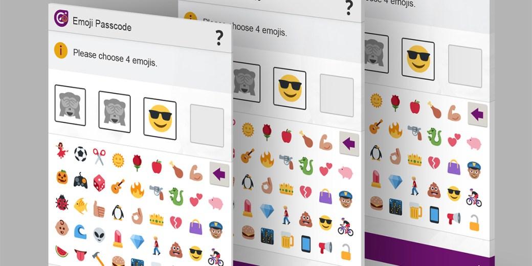 Emojis passcodes passwords