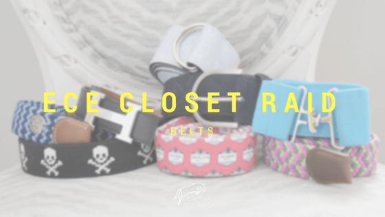 ECE Closet Raid: Belts