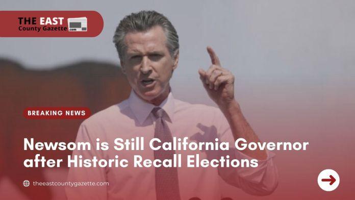 California Recall Elections