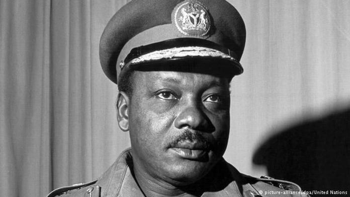 Maj-Gen JTU Aguiyi Ironsi