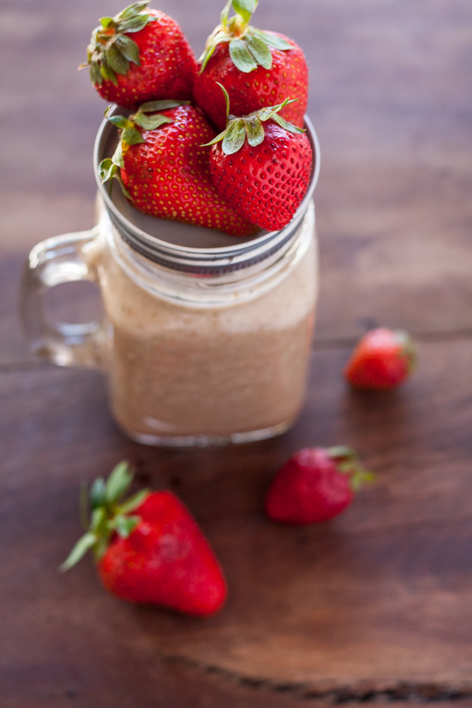 Coconut Water Strawberry Smoothie