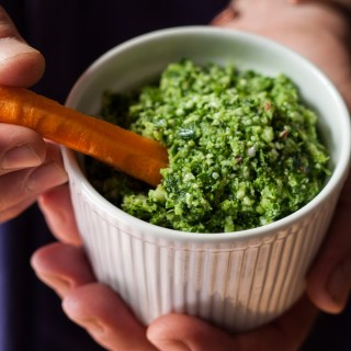 Cauliflower Chilli Pesto – Thermomix