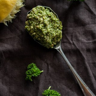 Pumpkin Seed Parsley Lemon Pesto