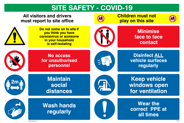 site safety business rules