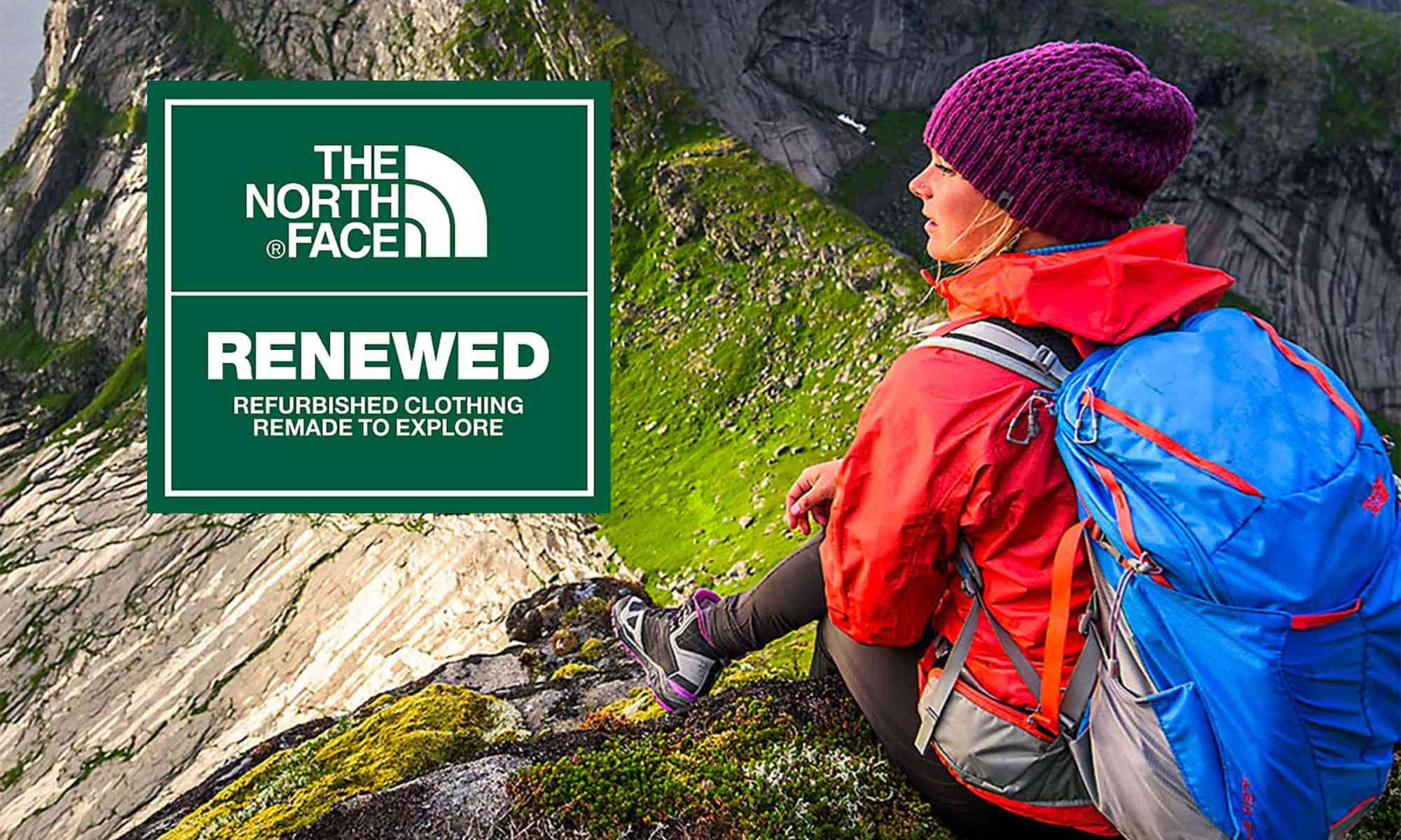 North Face Renewed Recommerce: Refurbish clothes for sale