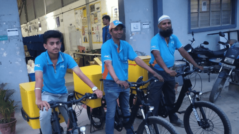 Flipkart Sustainable Last Mile Delivery Bikes