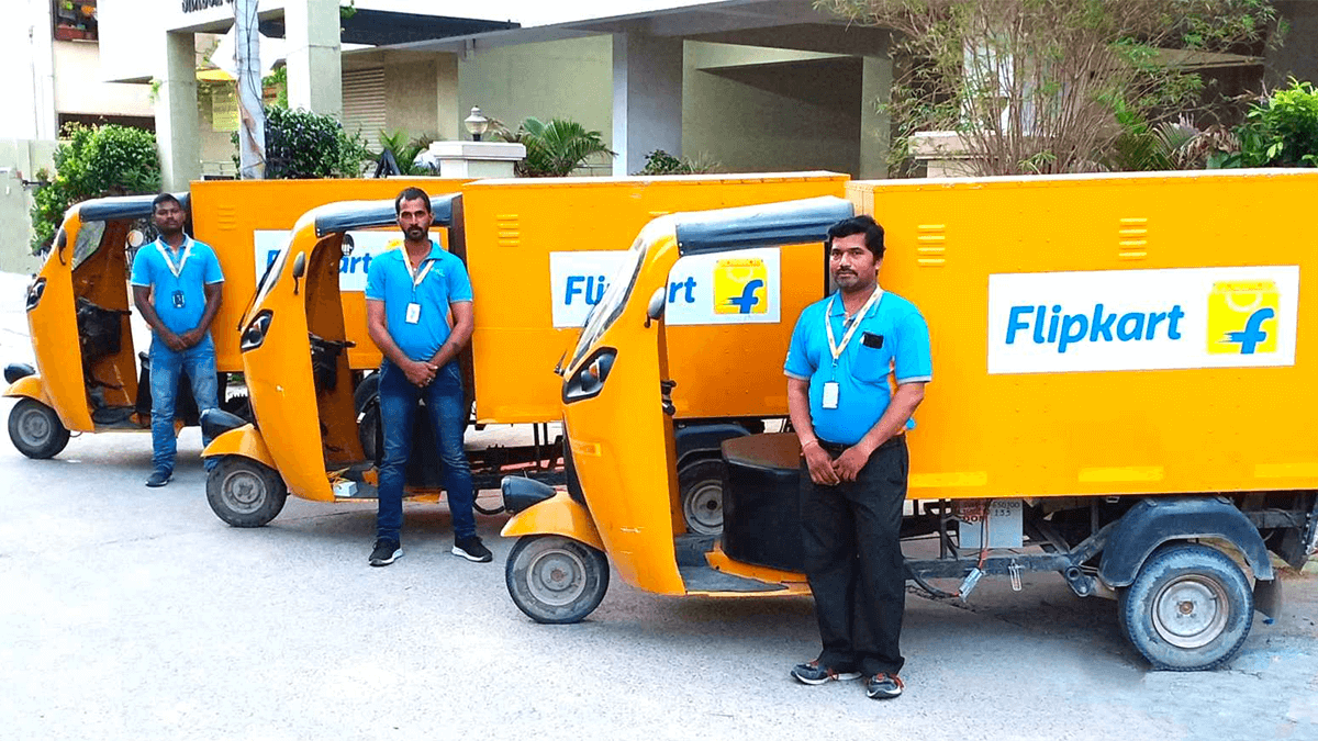 Flipkart Sustainable Last-Mile Delivery Trucks