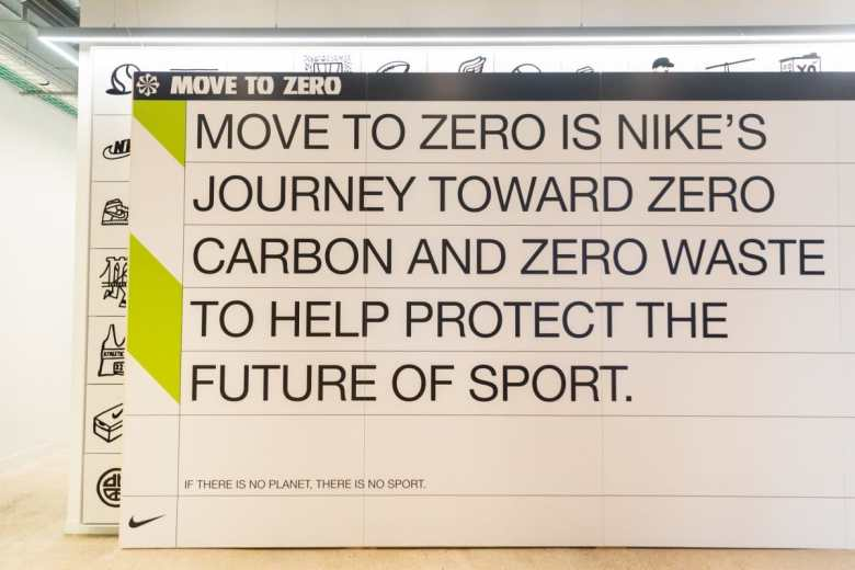 Nike Move to Zero Campaign Launch