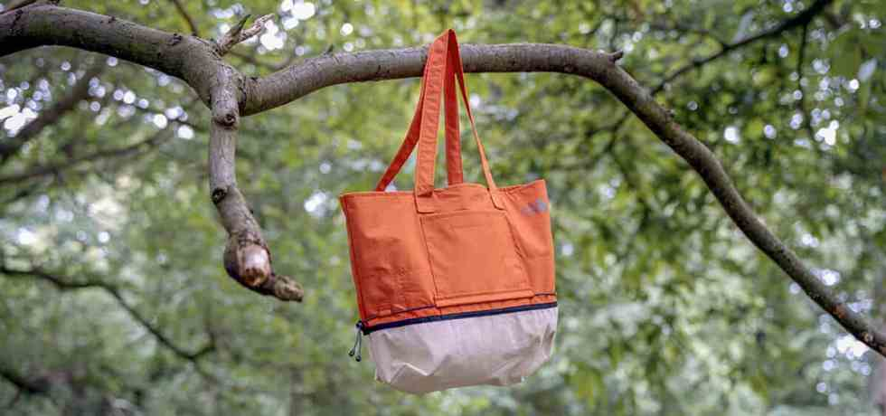 Greater Goods Upcycle North Face Bag in Tree