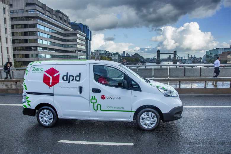 DPD Electric Delivery Vehicles UK