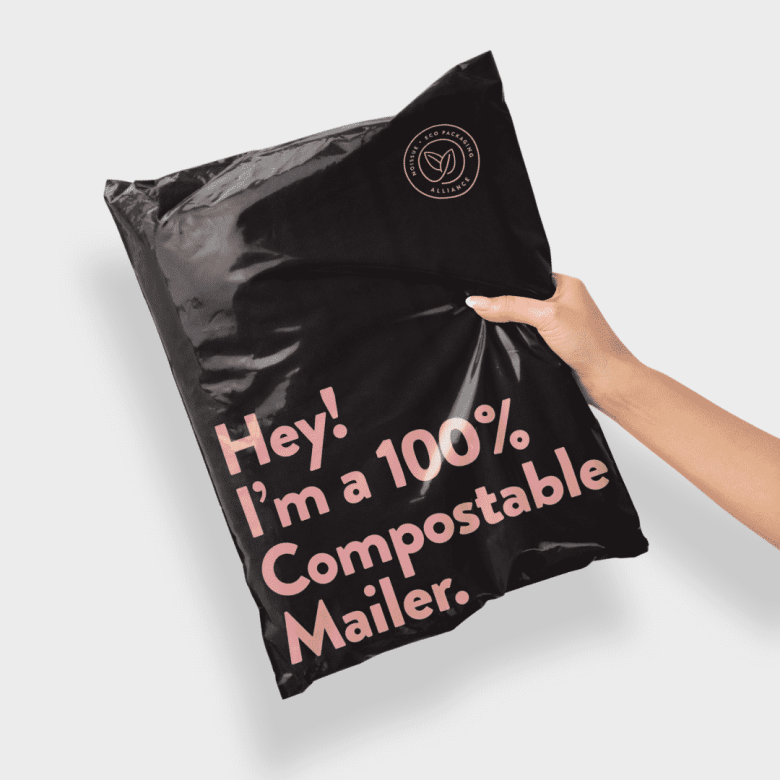 noissue 100% compostable jiffy bag