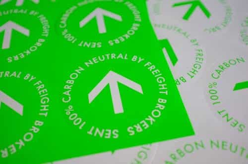 Freight Brokers 100% Carbon Neutral Delivery