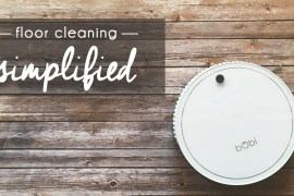 Floor Cleaning, Simplified : With the bObi robotic vacuum