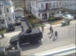Martial Law In Boston - Photo from shtfplan.com