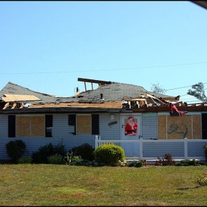 Tornado Damage - Photo by JOE M500