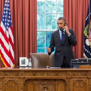 Barack Obama Oval Office