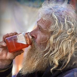 Homeless - Photo by psyberartist