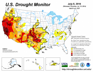 Drought Monitor July 8 2014