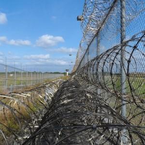 Prison Fence - Public Domain