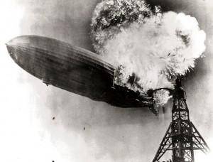 Hindenburg Disaster - Public Domain