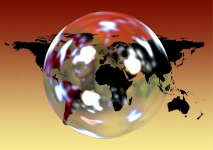 Bubble World - Public Domain