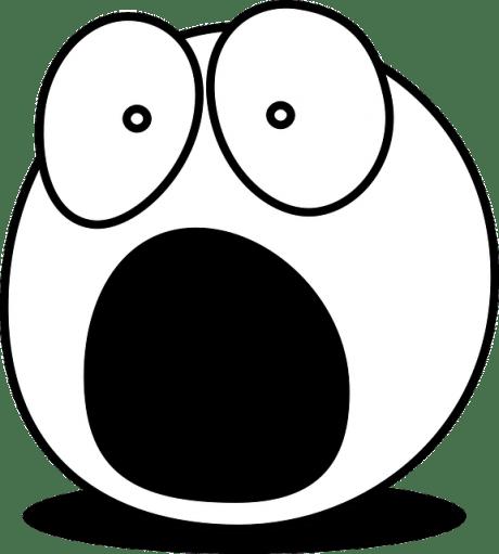 Screaming Smiley - Public Domain
