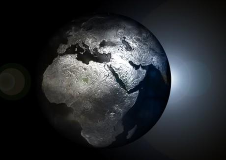 Globe Earth World Planet Ominous - Public Domain