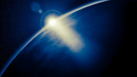 Sunrise Globe Earth Planet Space - Public Domain