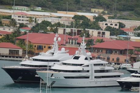 Superyachts - Public Domain