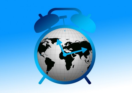 Alarm Clock Globe - Public Domain