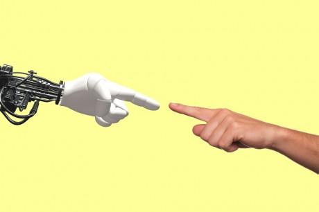 Robot Human Hand - Public Domain