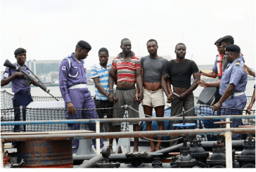 Piracy threatens shipping in Nigeria