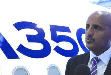 Ethiopian Airlines brings A350 XWB to Lagos airport