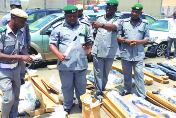 Customs' probe of illegal importation of 440 rifles