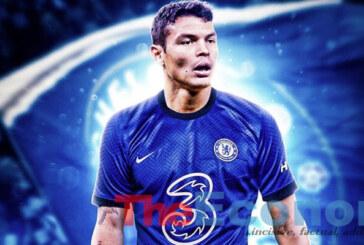 Chelsea sign Thiago Silva