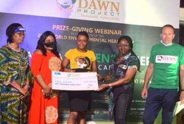 Dawn Project Prize -Giving Webinar in celebration of the 2020 World Environmental Health Day