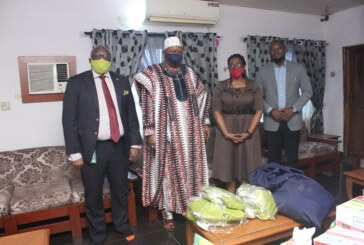 Donation of face masks by Red Star Express Plc