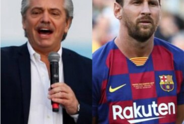 Argentina President Wants Messi Back Home