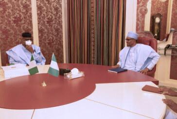 President Buhari Receive Ogun State Governor