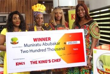 King's Chef Challenge prize presentation ceremony in Lagos