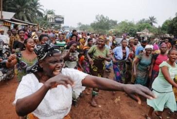 Ebonyi women protest herdsmen's destruction of farm produce