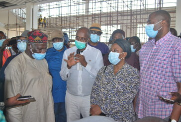 Inspection of Ongoing Lagos Ibadan Railway Construction