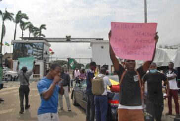 #ENDSARS Protest at Isheri Ojodu Berger axis Lagos