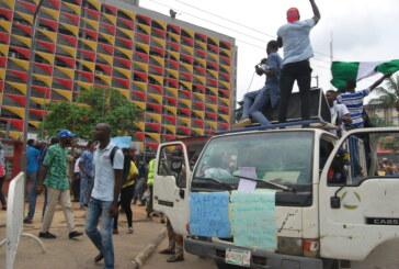#ENDSARS Protest at Alausa Secretariat  axis Lagos