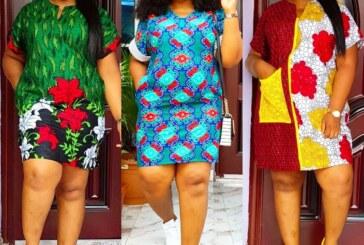 Latest Short Ankara Gown Styles (Straight)