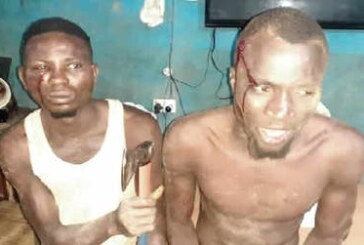 Police arrest two robbers during operation in Ogun