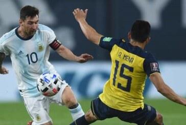 WC Qualifiers: Argentina beat Ecuador