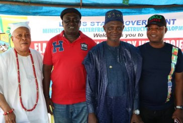 Inauguration of construction of new Badagry jetty in Lagos