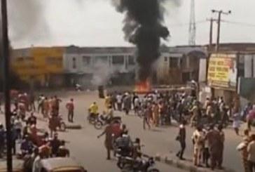 Police station burnt as warders, okada riders clash in Ibadan